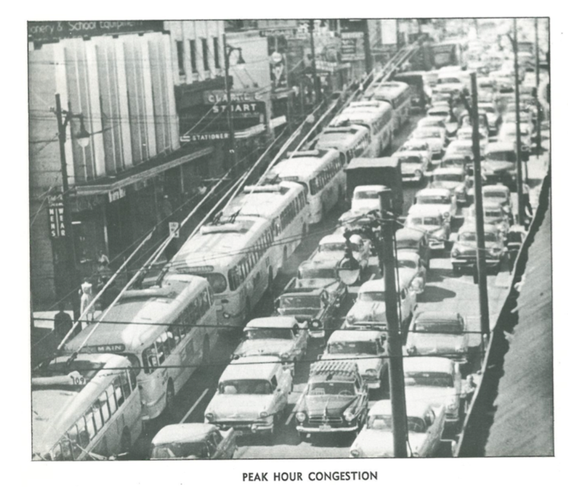 Peak hour congestion